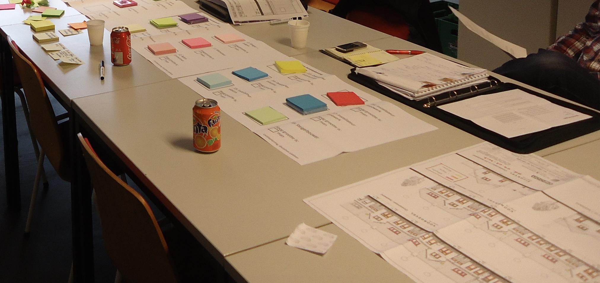 Klaar voor de lean(planning)sessies